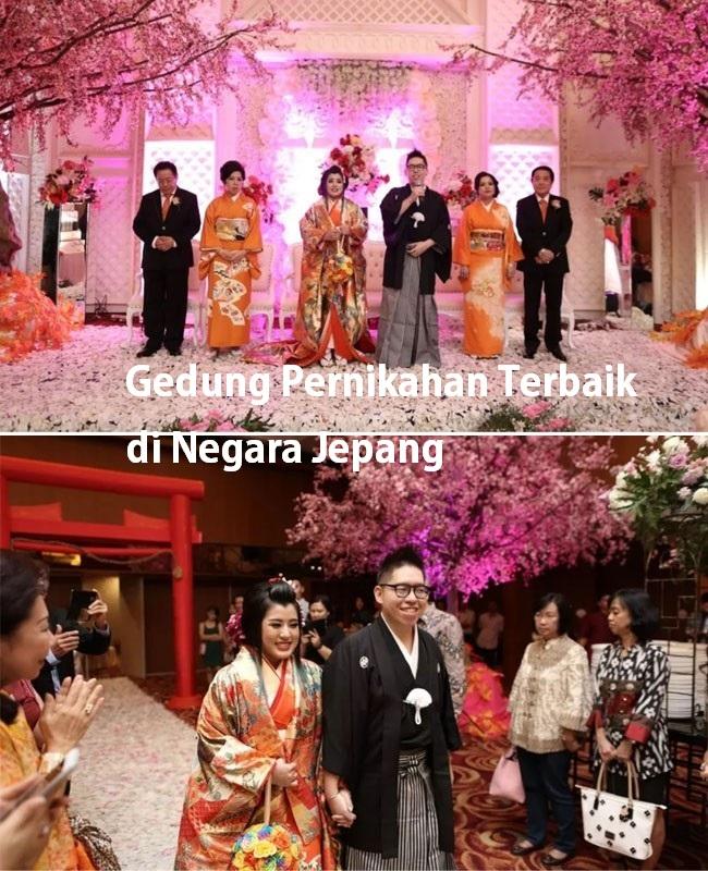 Gedung Pernikahan Terbaik di Negara Jepang